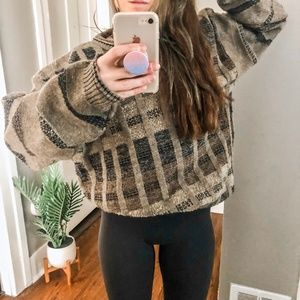 Autumn Mood Vintage Baggy Sweater a6*